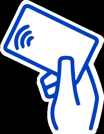 hand width card