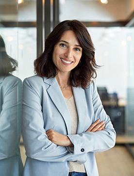 Kobieta w pracy eService
